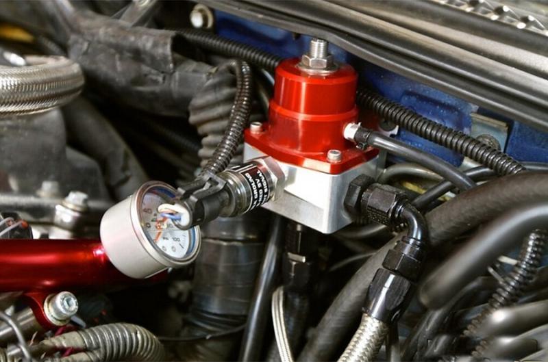 Замена регулятора давления топлива