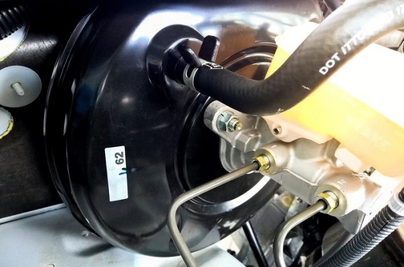 Замена вакуумного усилителя тормоза
